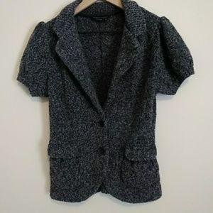 BCBG Max Azria short sleeve sweater top size M